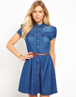 denim-jurk